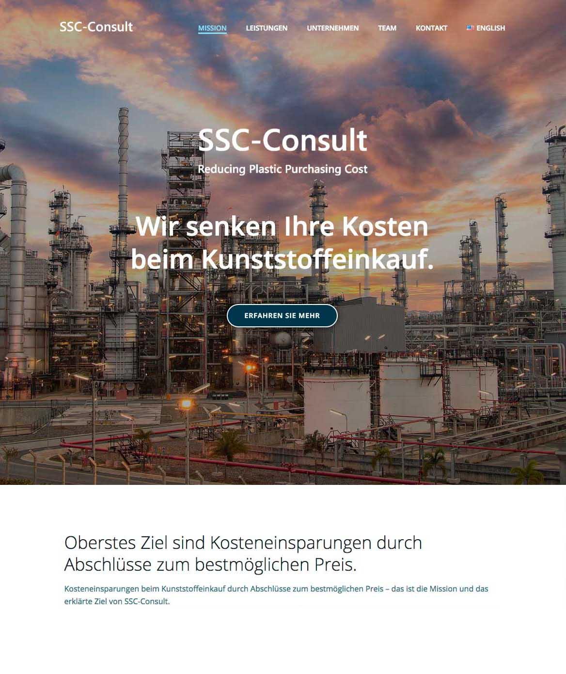 SSC-Consult Website